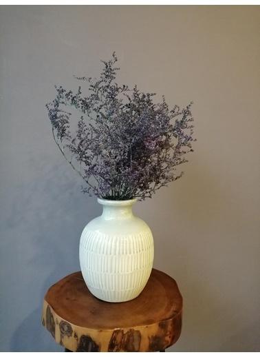 Kuru Çiçek Deposu Şoklanmış Lacivert Deniz Otu(Tatarika) (Dökülme Yapmaz) ,Kuru Çiçek Lacivert